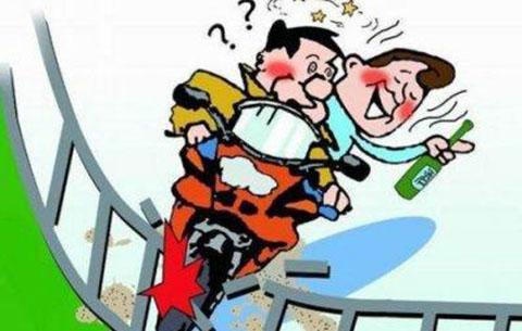 酒後騎車撞上圍擋受傷 駕駛人被判承擔主責