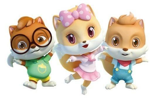 三只松鼠同名动画片开播