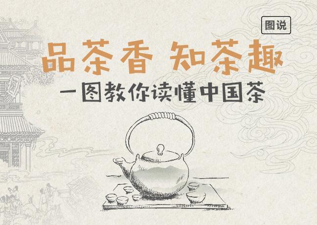 品茶香 知茶趣:一图教你读懂中国茶