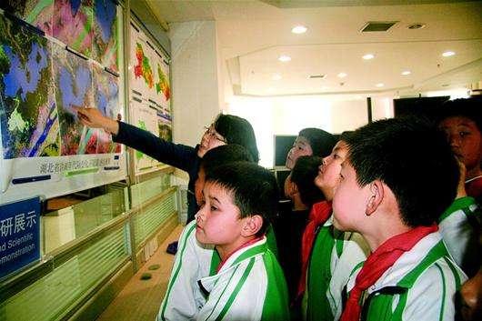 銅陵中小學生氣象科普係列競賽活動啟動