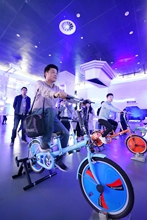 體驗智能自行車