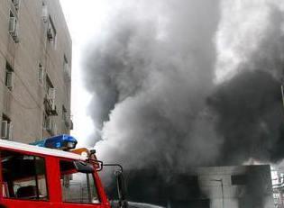 巢湖商之都发生火灾 官方通报