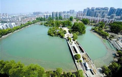 合肥长江西路北侧将添新公园