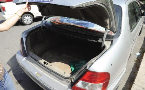 后备厢被撬丢失万元? 原是车主自编自导盗窃案