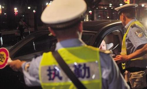 世界制造業大會期間合肥交警將嚴查酒駕等違法行為