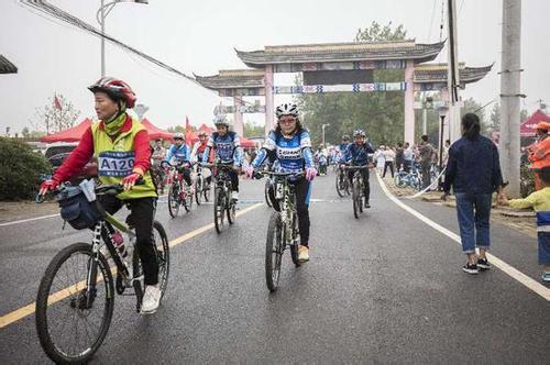 2018蜀山春之韵·观花节南岗骑游大会举行