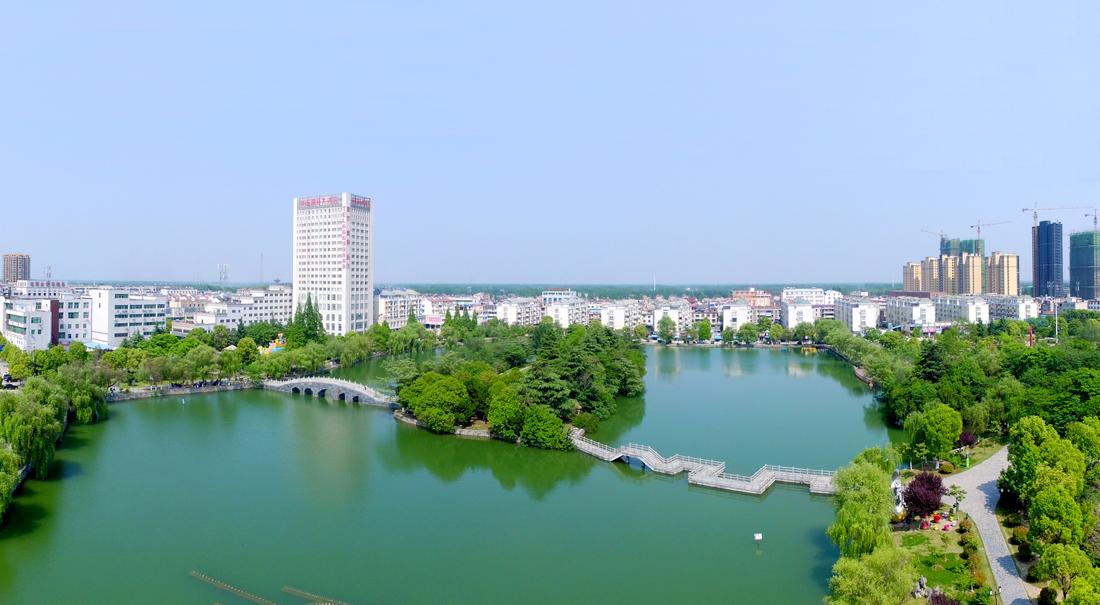 長豐(feng)縣城水湖公園(yuan)