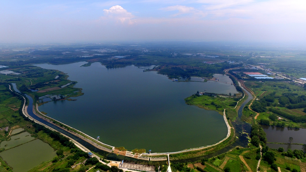 五湖連珠之鶴(he)翔湖