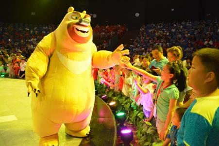 方特熊出没主题儿童节 和萌熊欢乐过六一