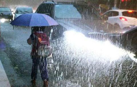 25日安徽將有強降雨 局地伴有8級左右雷雨大風