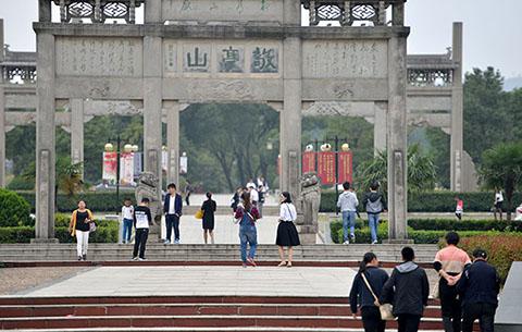 """""""后高考""""撞上""""粽子节"""" 216万游客端午小长假畅游宣城"""
