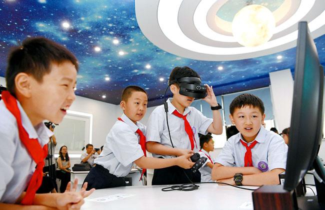 VR智慧课堂开课了