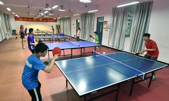 蚌埠市青少年乒乓球選手備戰省運會