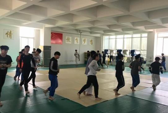 蚌埠市柔道隊積極備戰向省運首金發起衝擊