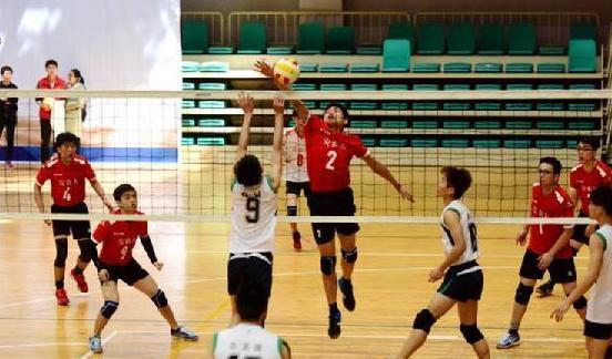 省運會高校部排球第一階段比賽結束