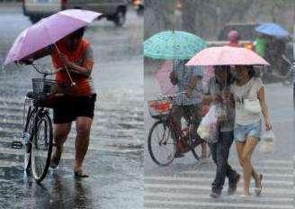 """""""温比亚""""为6年来影响安徽最强台风 携狂风暴雨肆虐80小时"""
