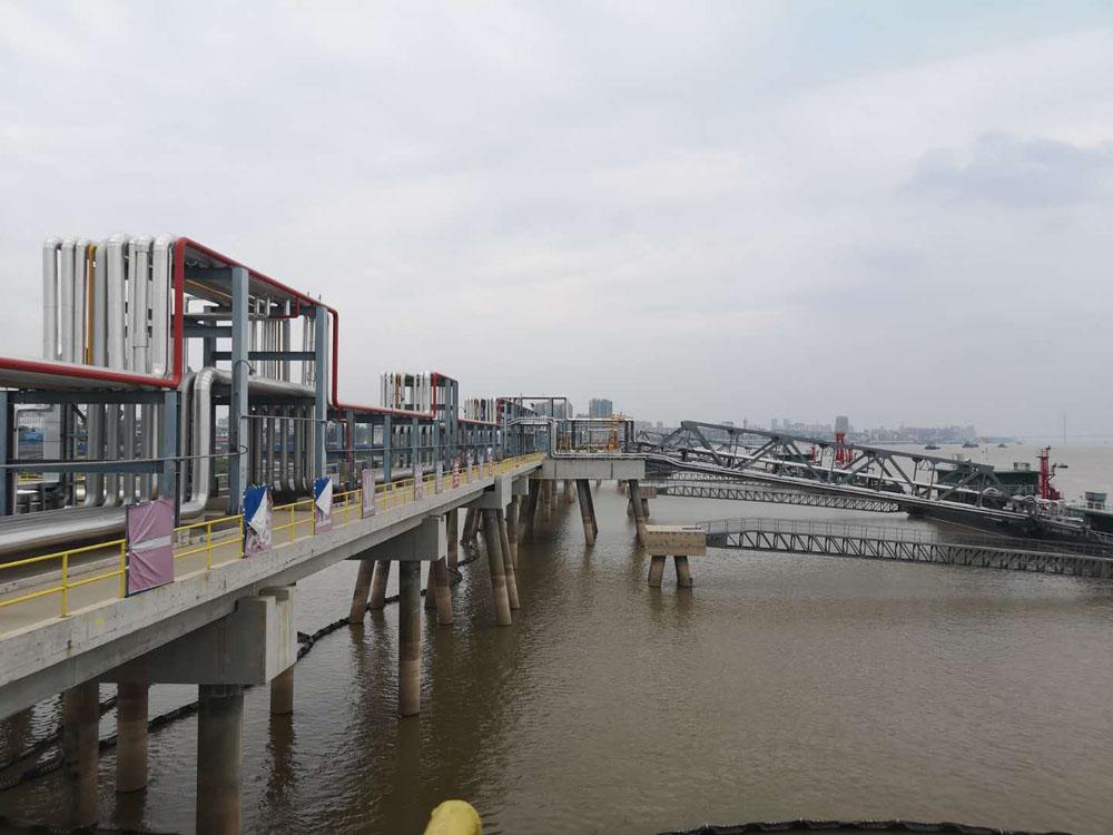 安慶石化管廊遷建 打造長江最美管線