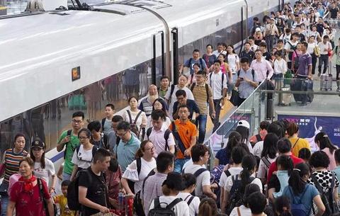 长三角铁路中秋国庆假期运输方案出台