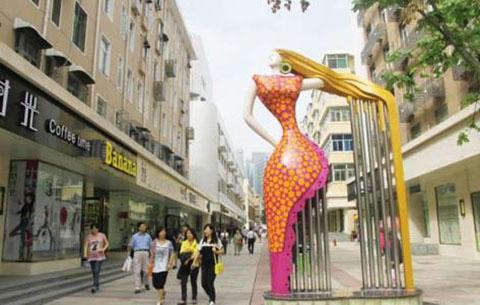 合肥七桂塘街区引入70多家特色小吃
