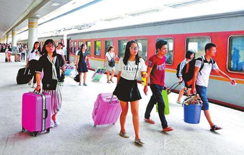 中秋假日铁路客流持续增长