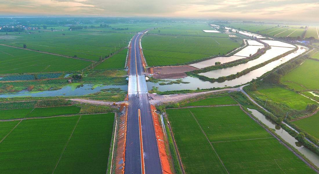 在建中的G347國道