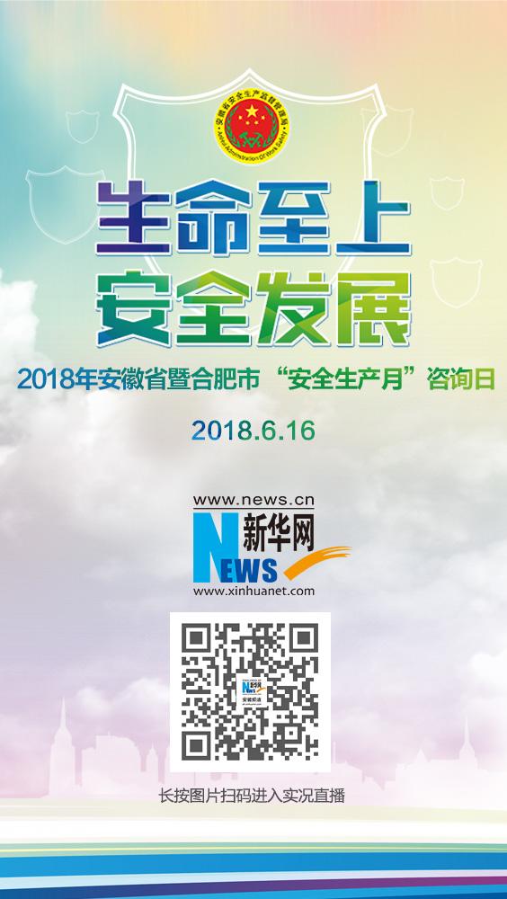 """2018年安徽省暨合肥市 """"安全生(sheng)產(chan)月""""咨詢日"""