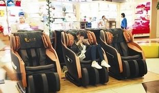 共享按摩椅隨便坐或存安全隱患