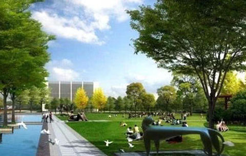 合肥城西北将打造滨水文化生态休闲区
