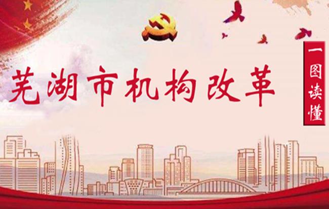 一圖讀懂:蕪湖市機構改革方案