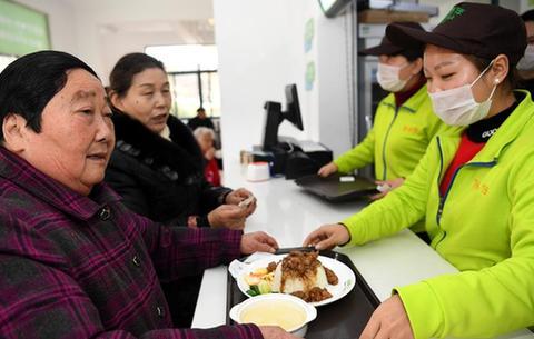 合肥:社區辦起惠民助餐點