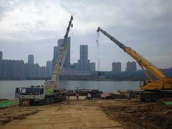 合肥懷寧路下(xia)穿(chuan)天鵝湖工程5月初進行隧道主體施工