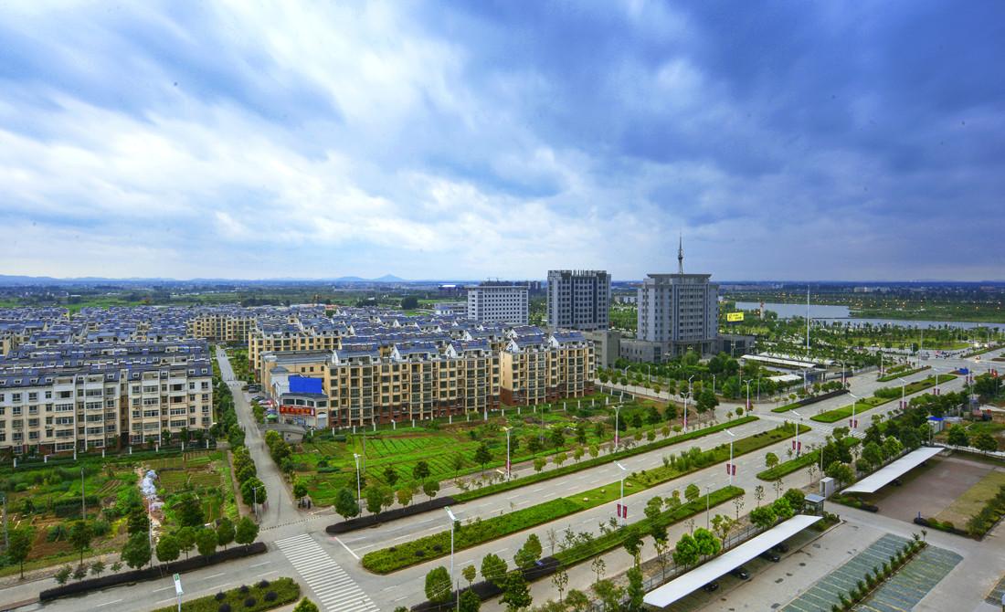 和縣(xian)城市(shi)風光1