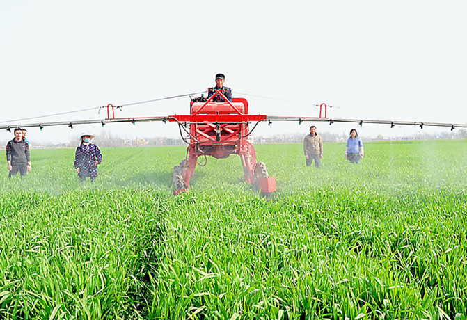 安徽各地調結構強服務做好春耕生産