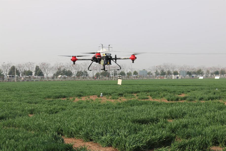 綠色植保 科(ke)技助力(li)濉溪農業發展