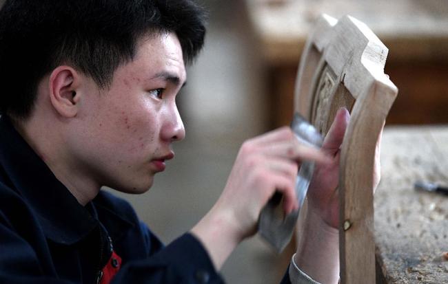 安徽休寧:木工職教 匠心傳承