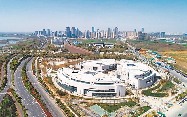 安徽創新館建設已全部完工 4月24日將盛裝開館迎賓
