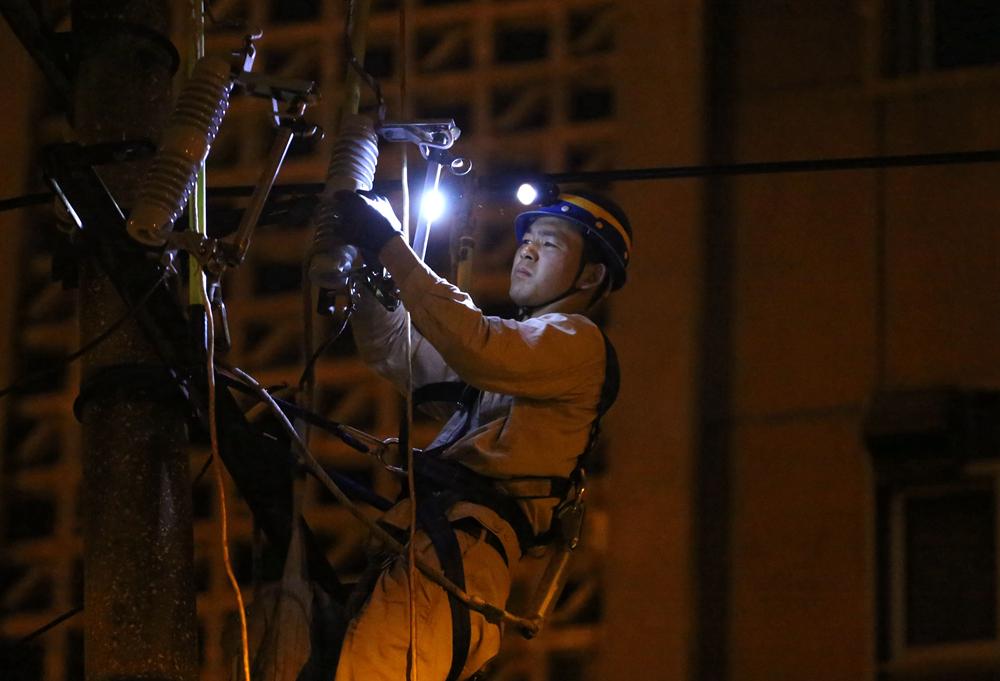 越夜越美麗,他們是城市光明守護者