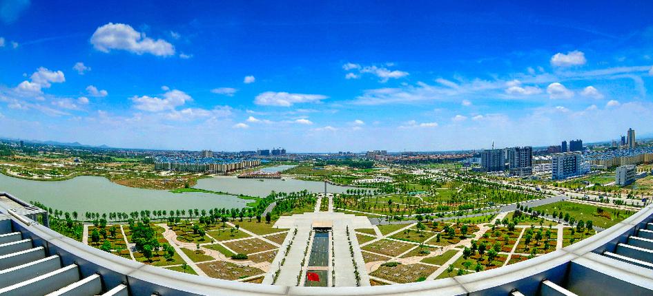 和縣(xian)城市(shi)風光2