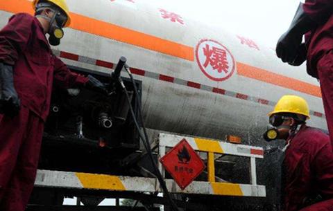 """安徽""""出招""""防范 危險化學品事故"""