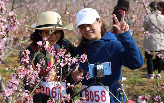 宣州區寒亭鎮舉辦第一屆衛浴桃花節