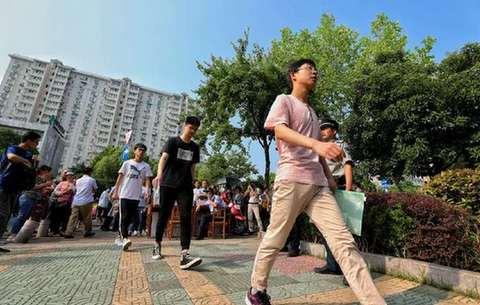 42萬安徽考生走進高考考場