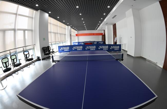 郵儲銀行合肥基地乒乓球室