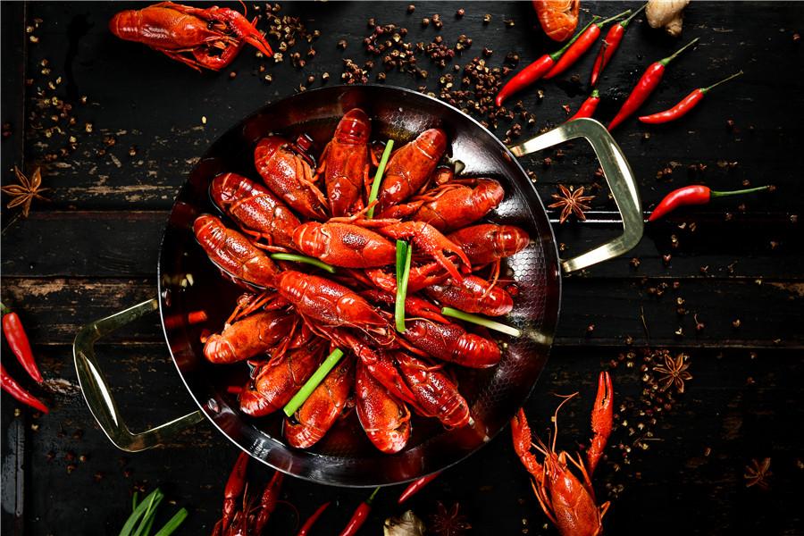 岸香美食-小龍蝦