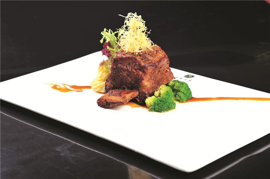 岸香美食——牛排