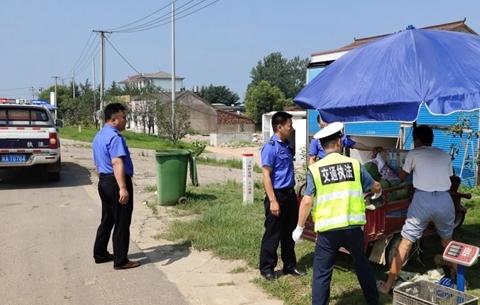 合肥G206國道70多處路邊西瓜攤點被勸退