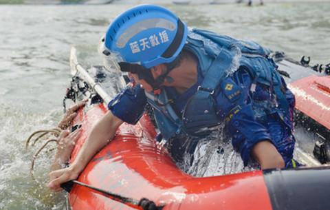 """蚌埠藍天救援隊:守護安全的""""一抹藍"""""""