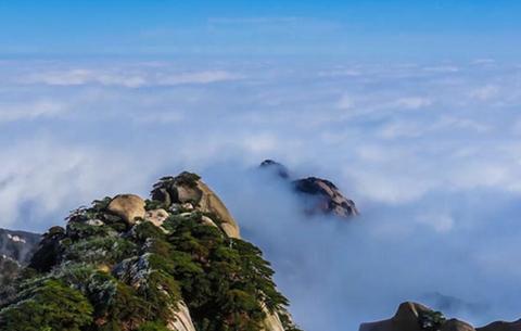 延時攝影:天柱流雲 驚艷時光