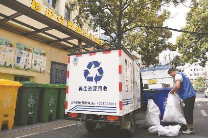 安徽省最大生活垃圾分揀中心投用