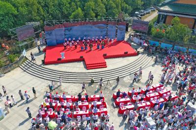 第十一屆中國·撮鎮荷花文化旅遊節開幕