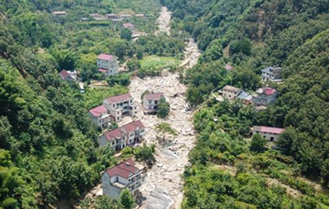 應急管理部向宣城調撥中央救災物資